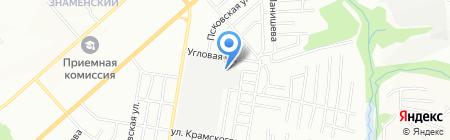 Спецбурение на карте Новосибирска