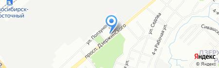 ВиТ на карте Новосибирска