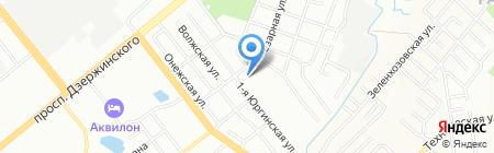Каретный двор на карте Новосибирска