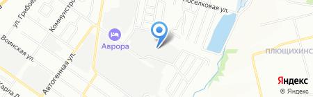 Элексон на карте Новосибирска