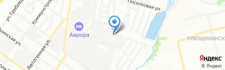 Домашняя одежда на карте Новосибирска