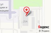 Схема проезда до компании Арыш мае в Березовке