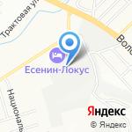 Демос на карте Новосибирска