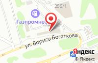 Схема проезда до компании АВАРКОМ в Новосибирске