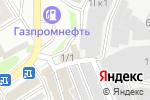 Схема проезда до компании АвтоБаня.nsk в Новосибирске