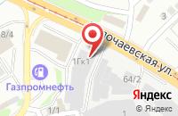 Схема проезда до компании Техпроект в Новосибирске