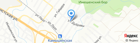 Тартуга на карте Новосибирска