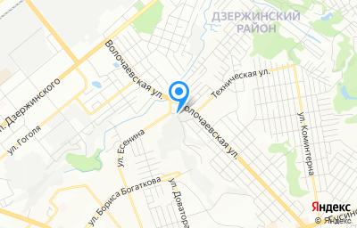 Местоположение на карте пункта техосмотра по адресу г Новосибирск, ул Почтовый Лог, д 1