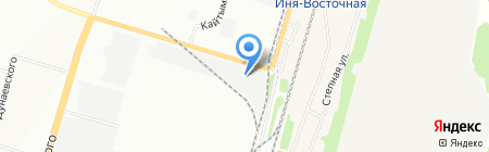 АБВ-сталь на карте Новосибирска