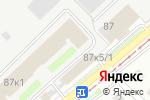 Схема проезда до компании А-спорт в Новосибирске