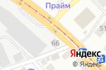 Схема проезда до компании Специализированная автомастерская по ремонту рулевых реек в Новосибирске