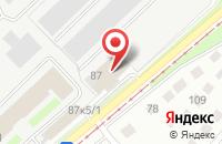 Схема проезда до компании Торговый Дом «Интерэнергопродукт» в Новосибирске
