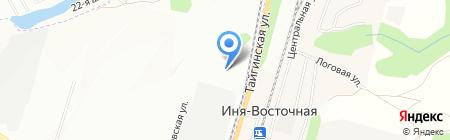 РазноТОРГ+ на карте Новосибирска
