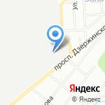 Далет на карте Новосибирска