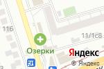 Схема проезда до компании Салон-парикмахерская в Новосибирске