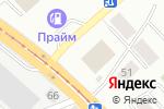 Схема проезда до компании AquaDрайв в Новосибирске