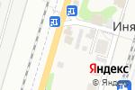 Схема проезда до компании ProfiШИН в Ине-Восточной