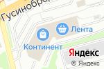 Схема проезда до компании КОНТИНЕНТ в Новосибирске