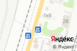 Схема проезда до компании Продуктовый магазин в Ине-Восточной