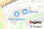 Схема проезда до компании Вива Мебель в Новосибирске