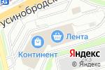 Схема проезда до компании Век Декора в Новосибирске