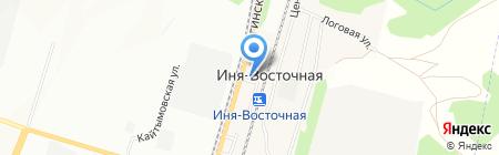 Почтовое отделение на карте Ини-Восточной
