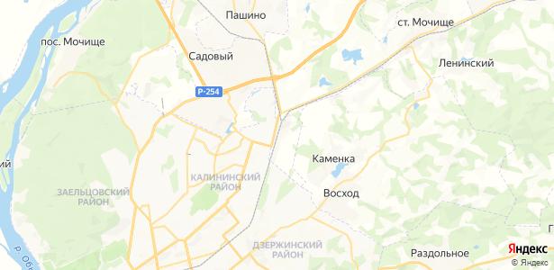 Иня-Восточная на карте