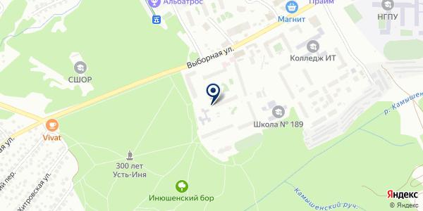 Участок №5 на карте Новосибирске