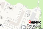 Схема проезда до компании Солнечная улица в Мичуринском
