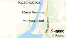 Отели города Мичуринский на карте