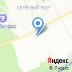 Графит на карте Новосибирска