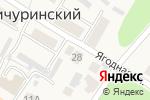 Схема проезда до компании Арт-мастерская домовой резьбы Давыдковых в Мичуринском