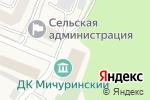 Схема проезда до компании Дом культуры пос. Мичуринский в Мичуринском