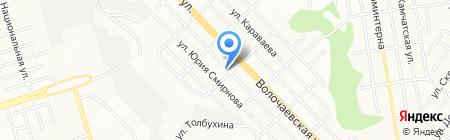Сварок на карте Новосибирска
