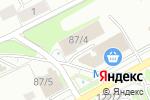 Схема проезда до компании МаксТехАвтосервис в Новосибирске