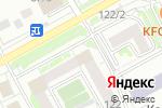 Схема проезда до компании Абелит в Новосибирске