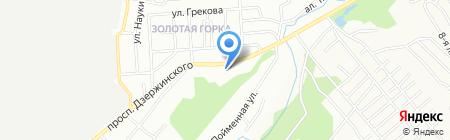 Золотая горка на карте Новосибирска