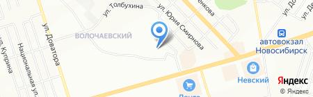 Детский сад №457 на карте Новосибирска