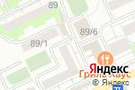 Схема проезда до компании Бэби Смайл в Новосибирске