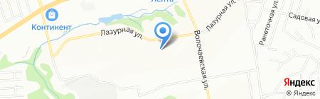 Детский сад №502 на карте Новосибирска