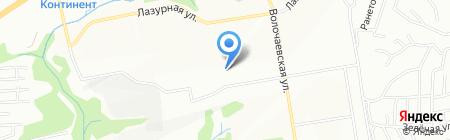 Детский сад №489 на карте Новосибирска