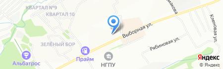 Klefol на карте Новосибирска