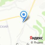 Сдобушка на карте Новосибирска
