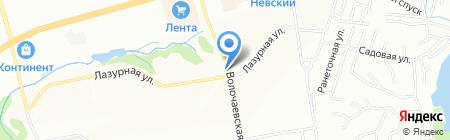 Седава на карте Новосибирска