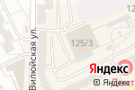 Схема проезда до компании Студия красивых ногтей в Новосибирске