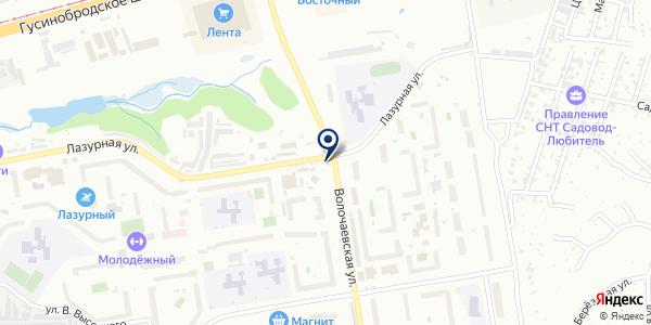 Седава на карте Новосибирске