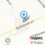 ВЕСЕЛАЯ НАУКА на карте Новосибирска