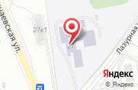 Схема проезда до компании Пеликан в Новосибирске