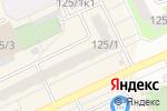 Схема проезда до компании ЖИЛФОНД в Новосибирске