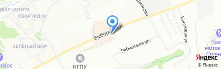 Этно на карте Новосибирска